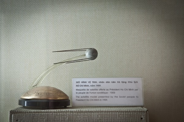 Museum of the Revolution - The Satellite Model presented by the Soviet people to President Ho Chi Minh in 1959